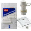 Igloo Marine Cooler Accessories such as cooler drain plugs, latches, hinges, and cooler tie downs.