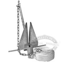 Tie Down Danforth Standard Anchor Kits