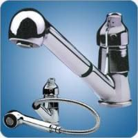 Scandvik Galley Mixer Faucet with Pull Out Sprayer