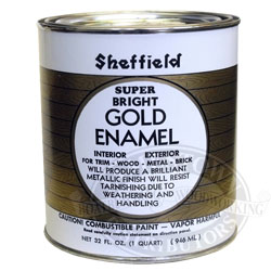 Sheffield Super Bright Gold Metallic Paint