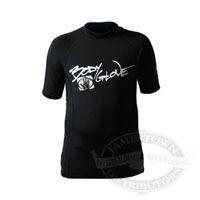 Body Glove Basic Short Arm Lycra Shirt - Black