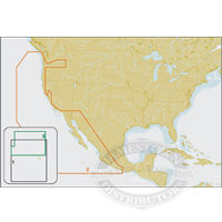 C-Map NT+ C Card/FP Format - N. A. West Coasts & Hawaii