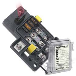 blue sea systems safetyhub 100 fuse block rh jamestowndistributors com