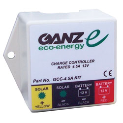 Ganz GCC 4.5A Solar Panel Charge Controllers