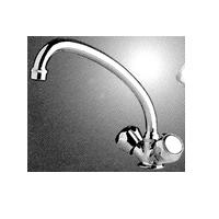Scandvik Galley Mixer Faucet with Swivel Spout
