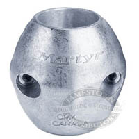 Martyr Aluminum Streamlined Shaft Anode