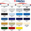 Interlux Brightside Polyurethane Color Chart