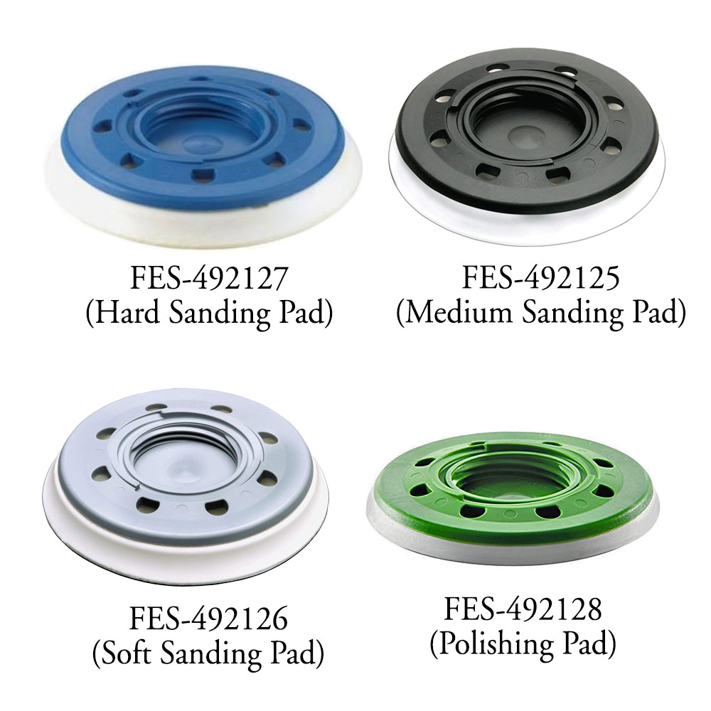 Festool 5 inch StickFix Rotex Sanding and Polishing Pads