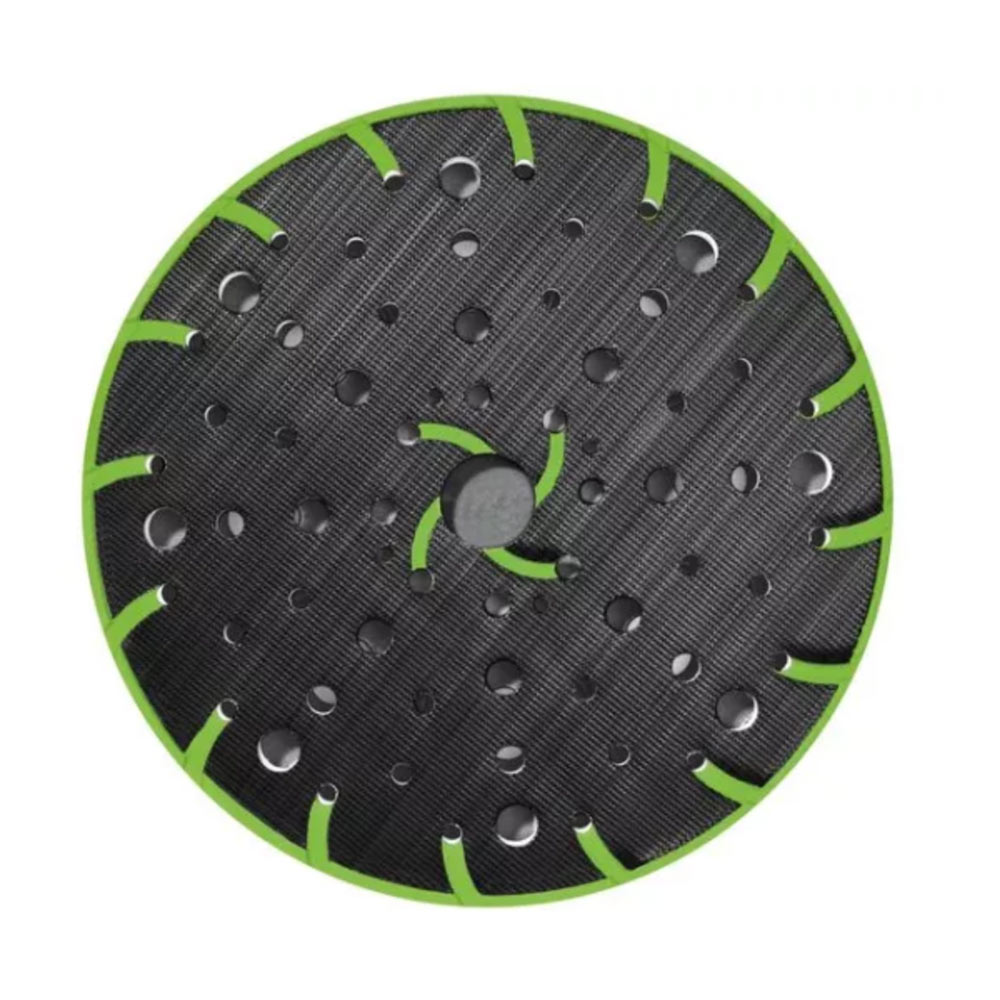 Festool StickFix 6 Inch Sanding Pad for ETS 150 Sanders view of base