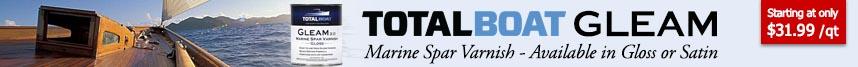 TotalBoat Gleam Spar Varnish