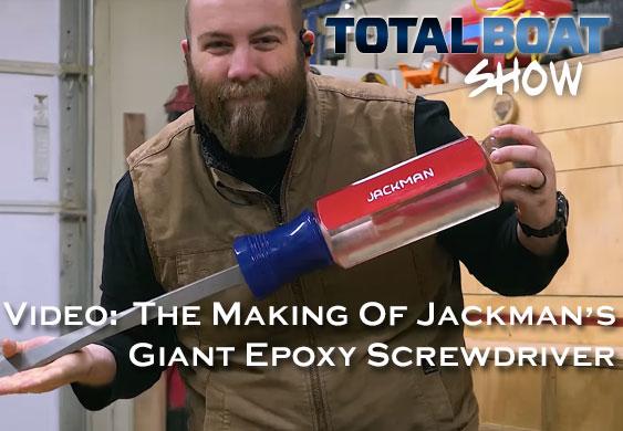 Paul Jackman - Pouring a Giant Epoxy Screwdriver