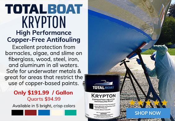 TotalBoat Krypton Copper Free Ablative Bottom Paint