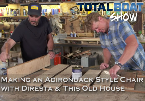 Varnishing with This Old House and Jimmy Diresta