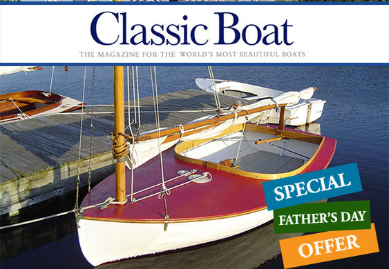 Classic Boat for Father's Day