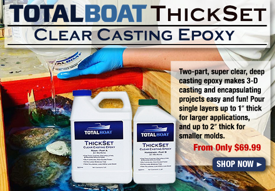 TotalBoat ThickSet Epoxy Resin