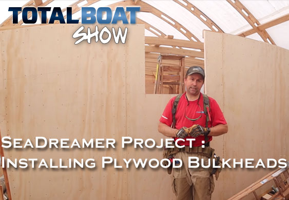 Sea Dreamer Project: Installing Plywood Bulkheads