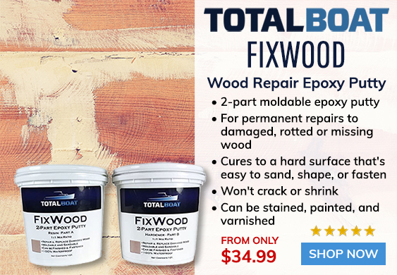 TotalBoat FixWood Epoxy Putty