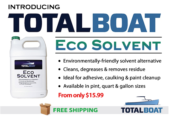 Introducing TotalBoat Eco Solvent