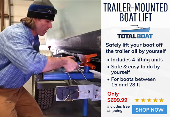 TotalBoat Trailer-Mounted Boat Lift