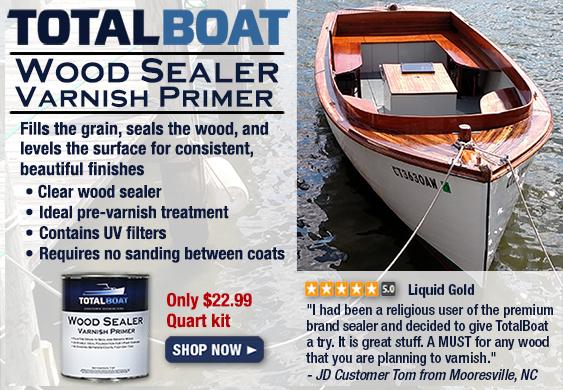 TotalBoat Wood Sealer Varnish Primer