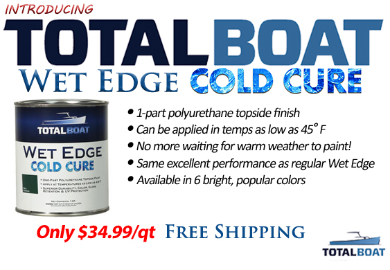 TotalBoat Wet Edge Cold Cure