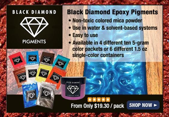 Black Diamond Mica Powder Color Epoxy Pigments