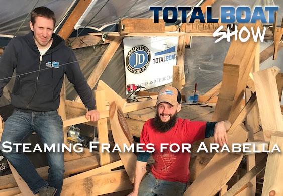 Steaming Frames for Arabella
