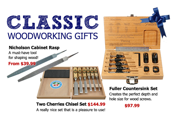 Classic Woodworking Tools as Gifts