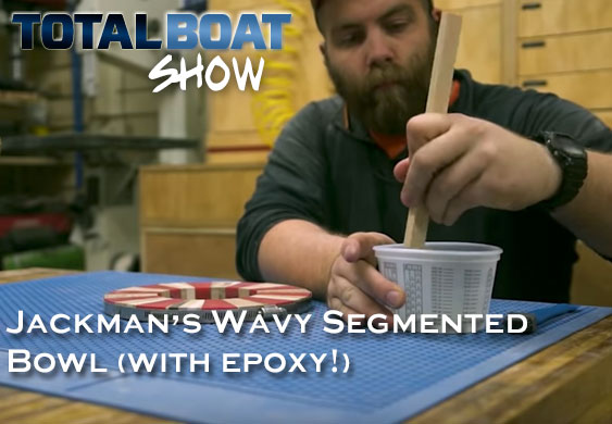 Jackman's Wavy Segmented Bowl (with Epoxy!)