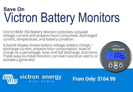 Victron battery monitors