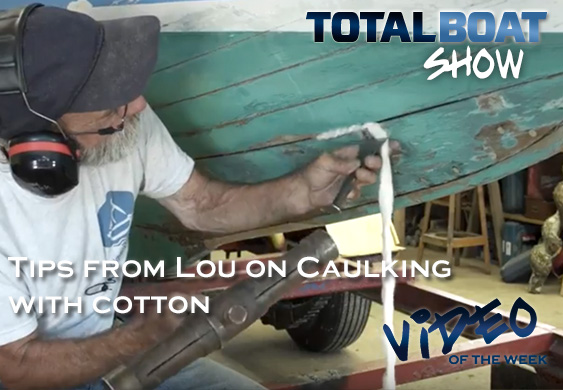Video: Lou's Tips on Caulking with Cotton