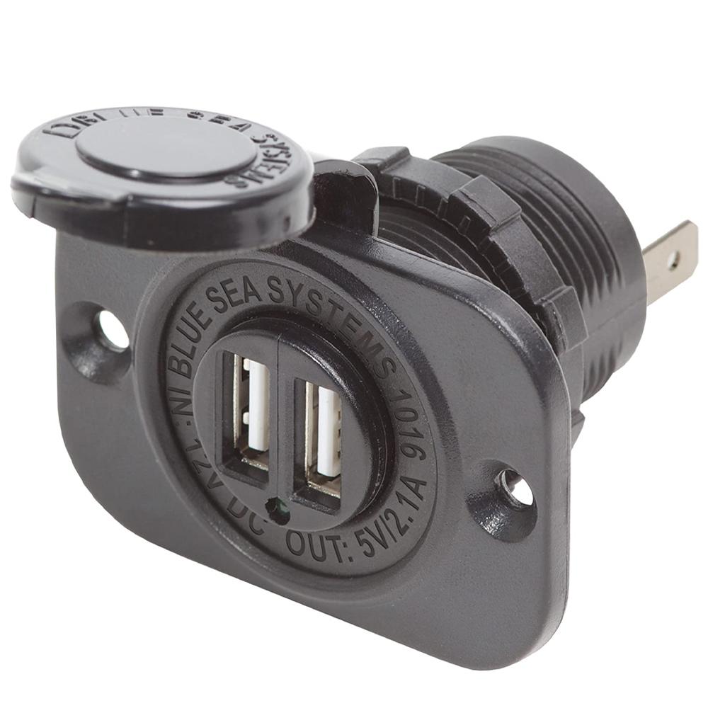 Blue Sea Systems Dual USB Charger Plug & Socket