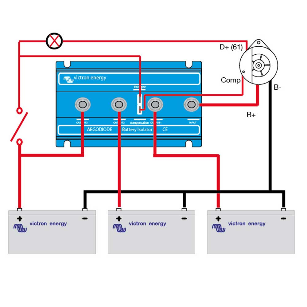 battery_isolator_diagram victron argo diode battery isolators split charge diode wiring diagram at bayanpartner.co