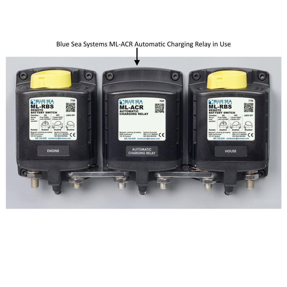 automatic charging relay wiring diagram automatic blue sea systems ml acr automatic charging relay 7620 on automatic charging relay wiring diagram