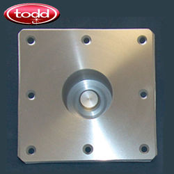 Todd Posi-Lock Table Post Square Floor Plate