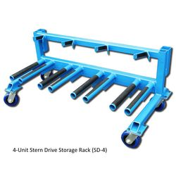 Brownell Stern Drive Storage Rack 4-Unit Rack SD4
