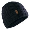 Gill Cable Knit Beanie Hat Navy