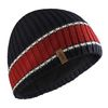Gill Navy/Red Band Stripe Beanie Hat