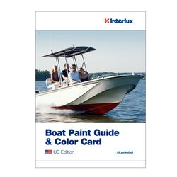 Interlux Boat Painting Guide And Color Card 2017