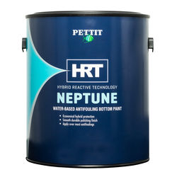 Pettit Neptune HRT water based boat bottom paint replaces Neptune5