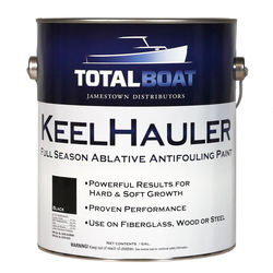 TotalBoat KeelHauler Ablative Antifouling Paint Black