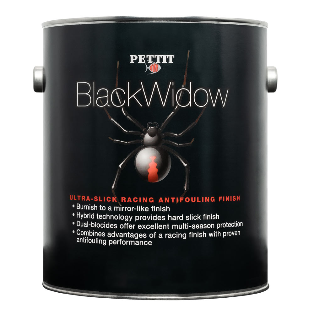 Pettit Black Widow Racing Antifouling Paint