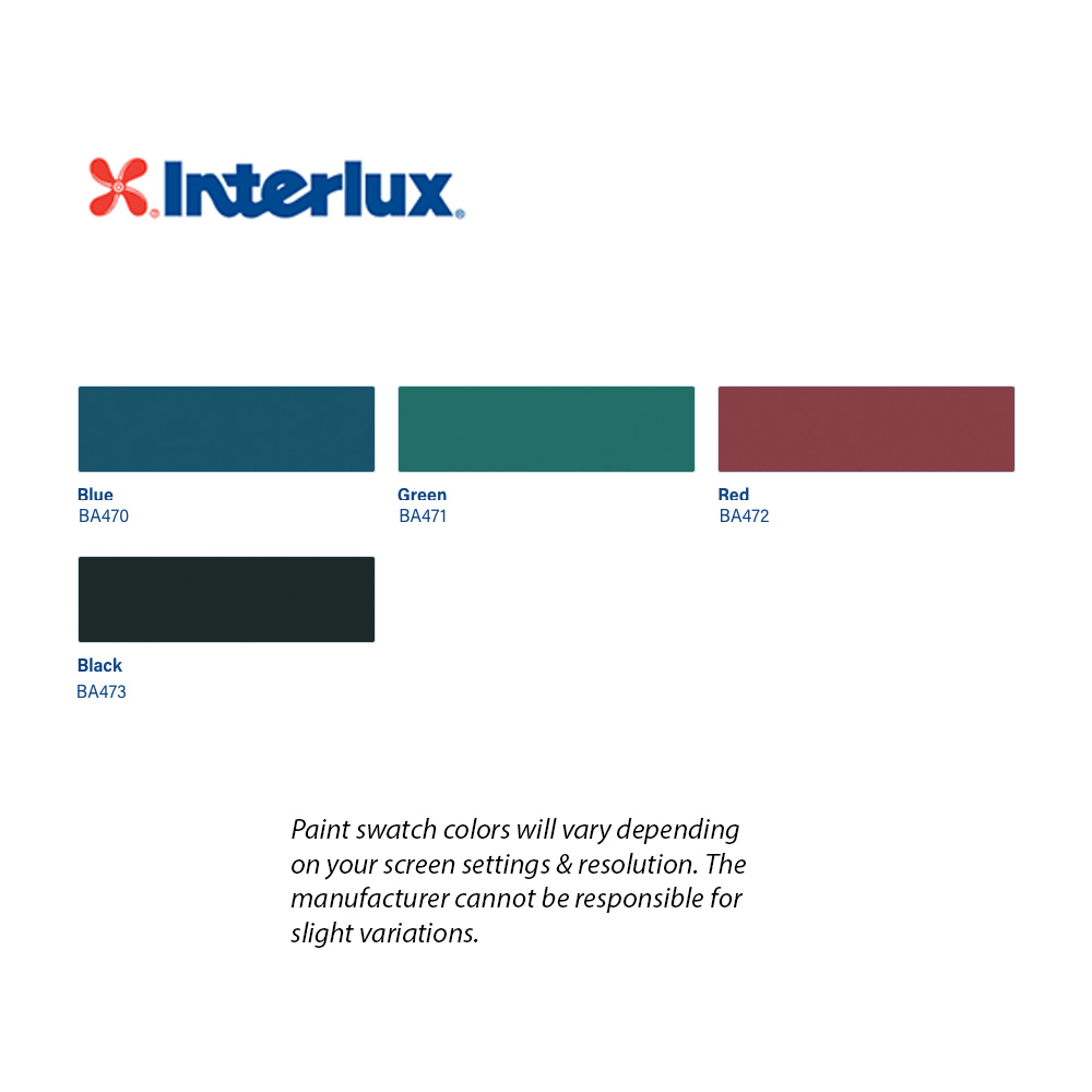 Interlux Micron 66 Ablative Bottom Paint Color Chart
