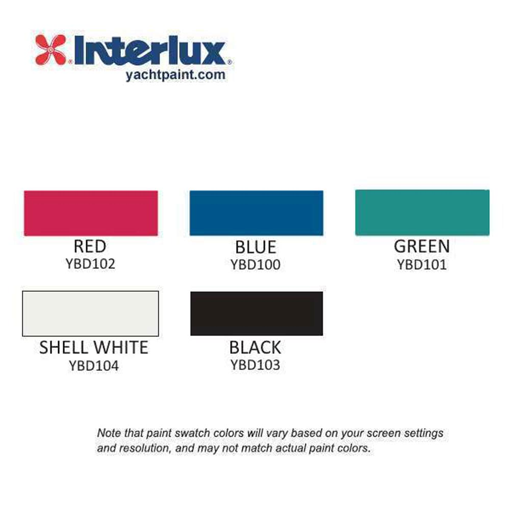 Interlux Micron CF Antifouling Bottom Paint Color Chart
