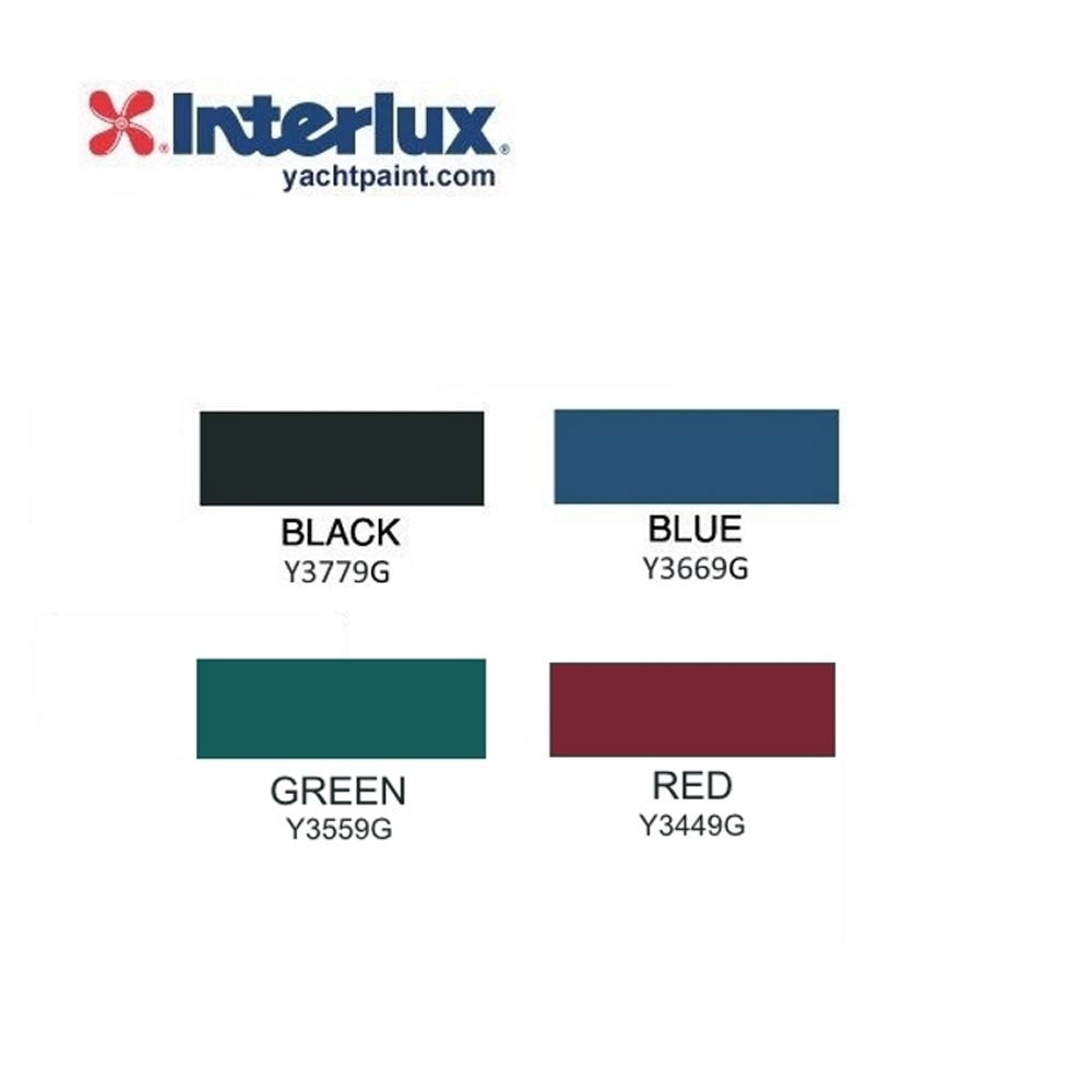 Interlux Ultra Color Chart