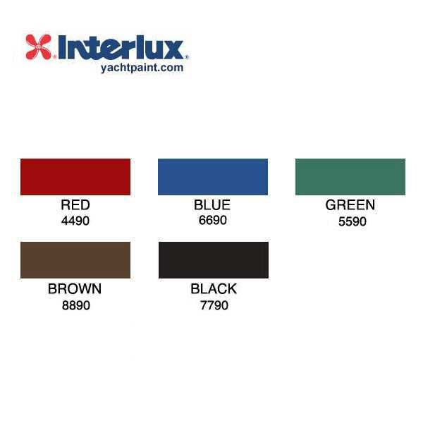Interlux ACT Color Chart