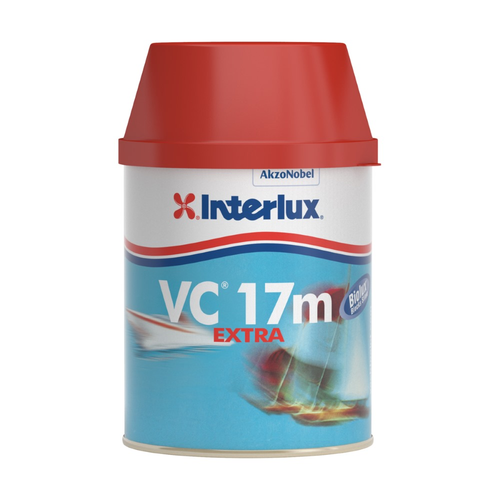 Interlux VC 17m Extra with Biolux Bottom Paint