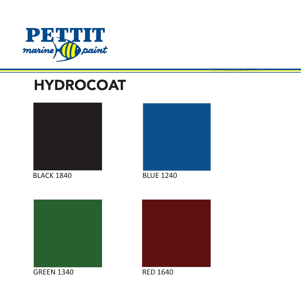 Pettit Hydrocoat Color Chart