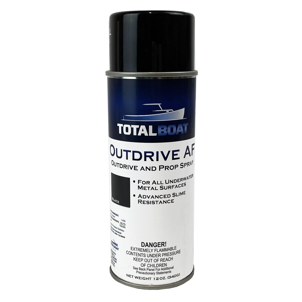 TotalBoat Outdrive AF Antifouling Barnacle Barrier Spray