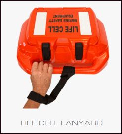Life Cell and included lanyard